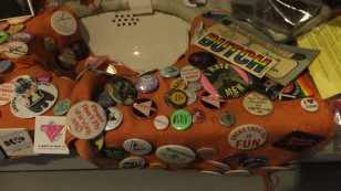 Sink dislay at the Herstory Archive